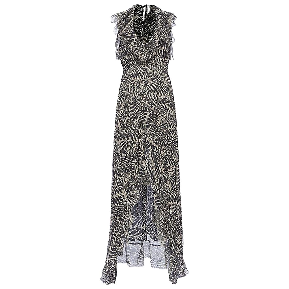 Lagence - Robe   pour femme en soie - multicolore