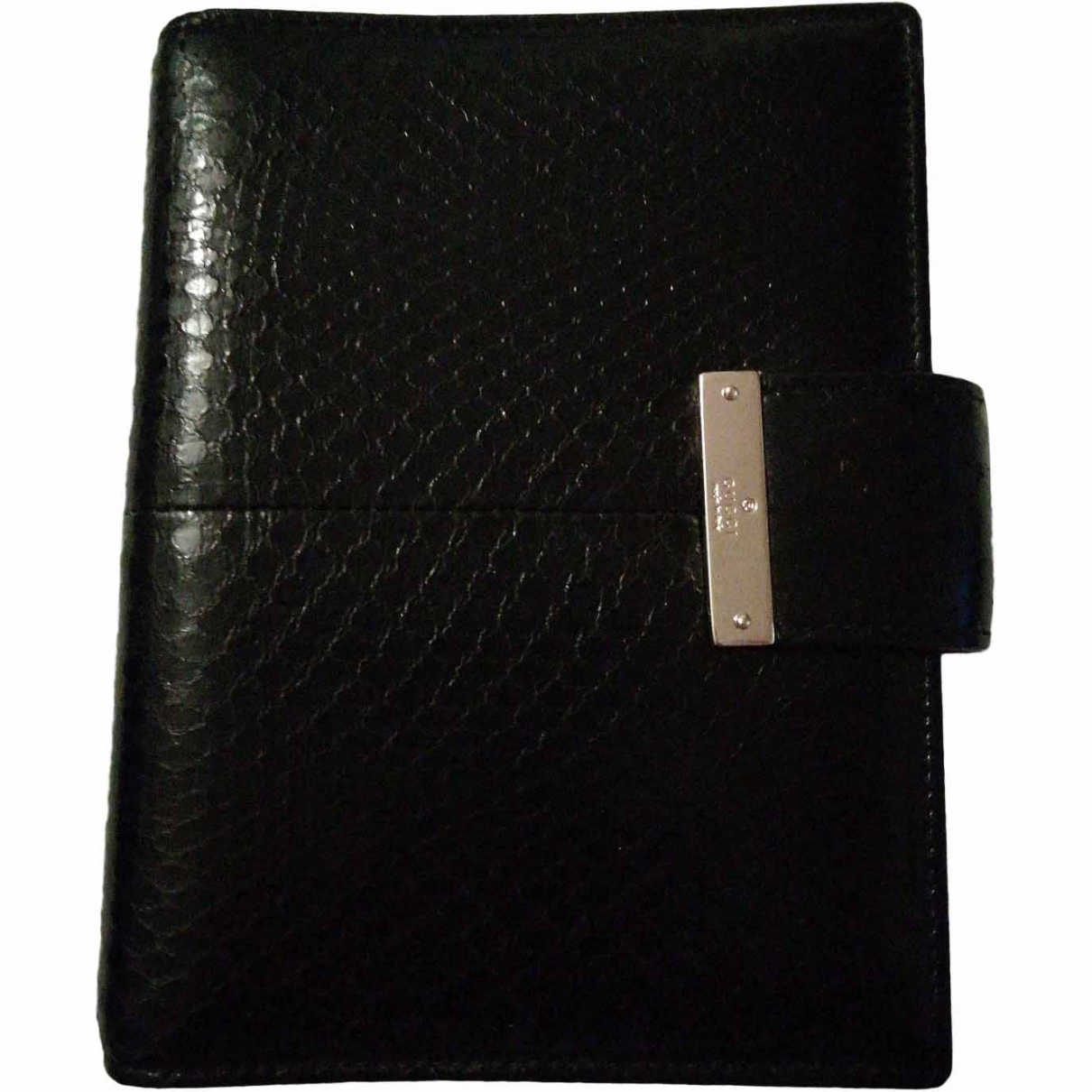 Gucci \N Black Leather Home decor for Life & Living \N