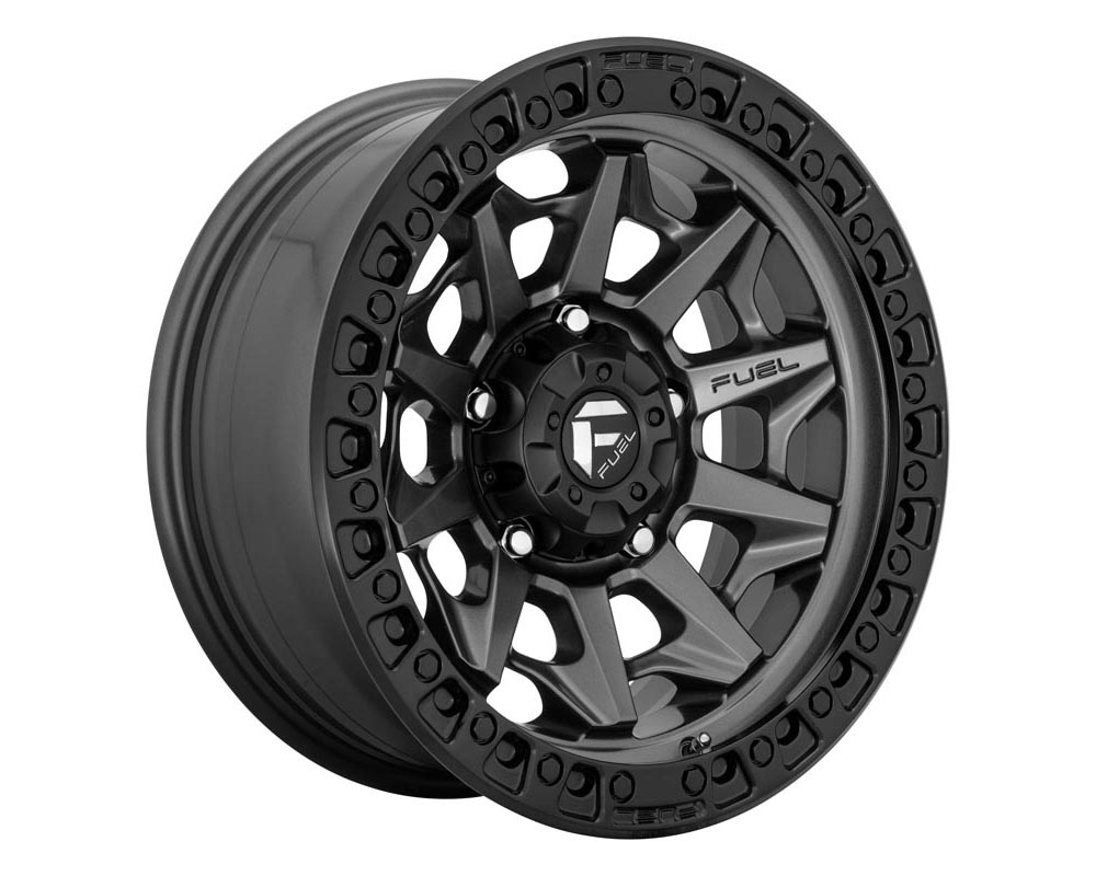 Fuel D716 Covert Wheel 18x9 5x5.5 1 Matte Gunmetal Black Bead Ring