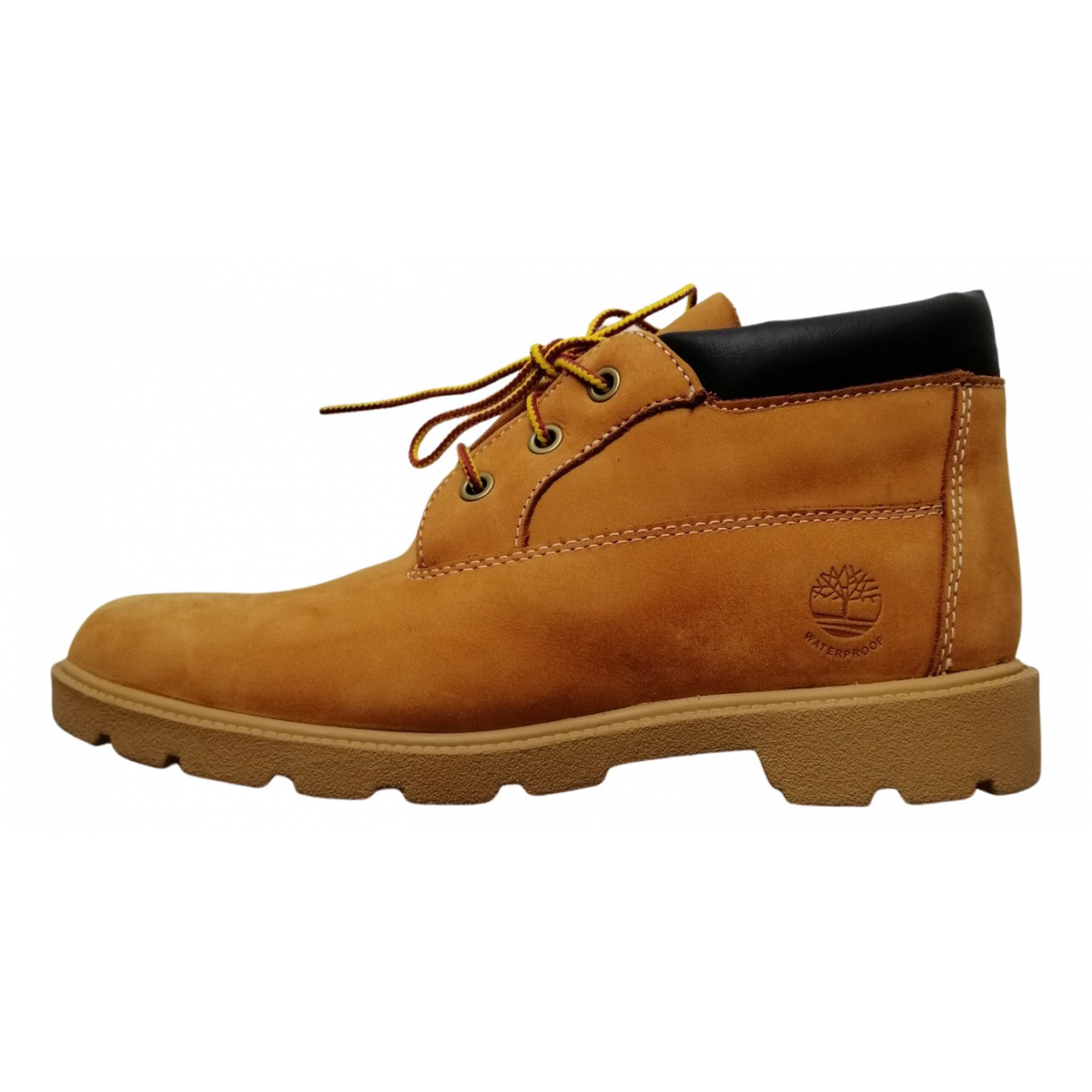 Timberland N Camel Leather Boots for Men 39 EU
