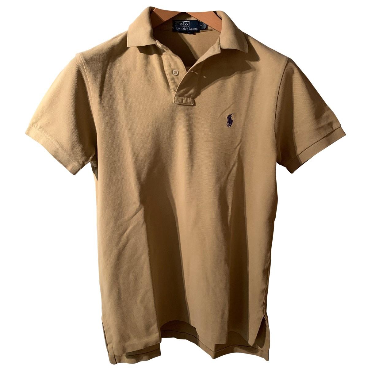 Polo Ralph Lauren \N Poloshirts in  Beige Baumwolle