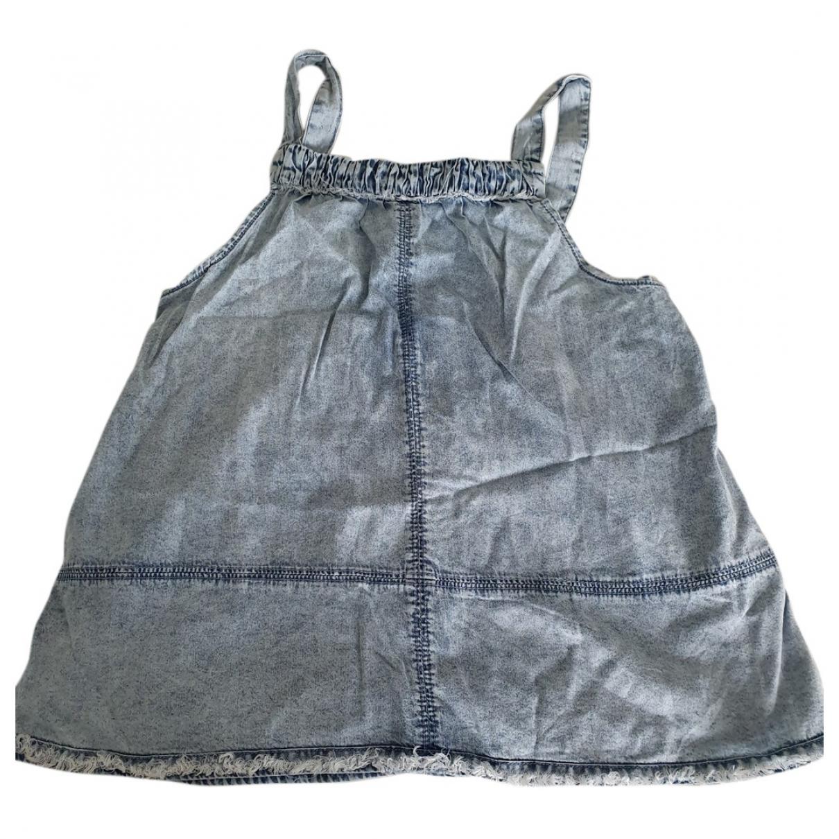 Abercrombie & Fitch - Top   pour enfant en coton - bleu