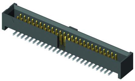 Samtec , SHF, 34 Way, 2 Row, Straight PCB Header (2)