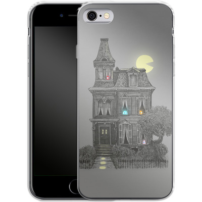Apple iPhone 6s Silikon Handyhuelle - Haunted By The 80s von Terry Fan