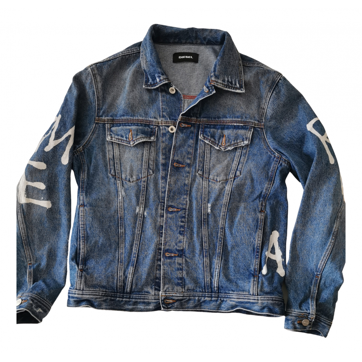 Diesel N Blue Denim - Jeans jacket  for Men L International
