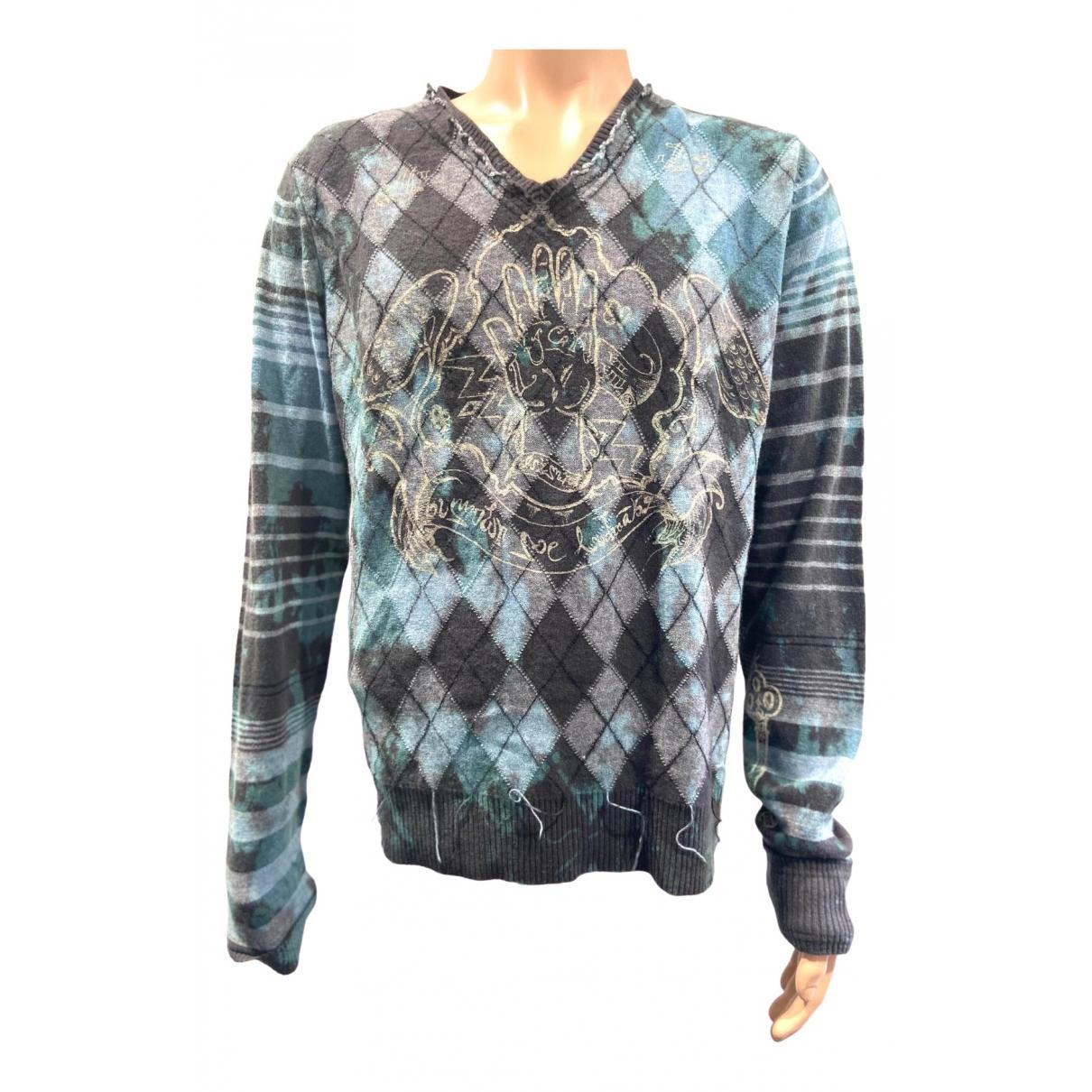 Diesel \N Pullover.Westen.Sweatshirts  in  Grau Wolle