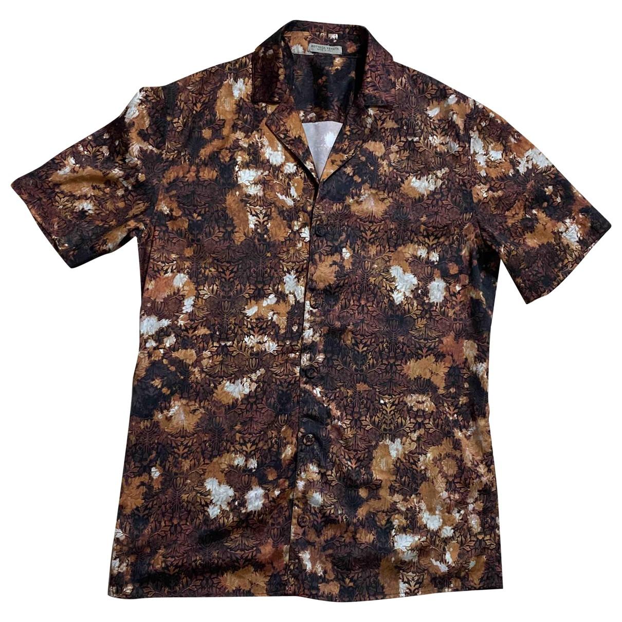 Camisas de Seda Bottega Veneta