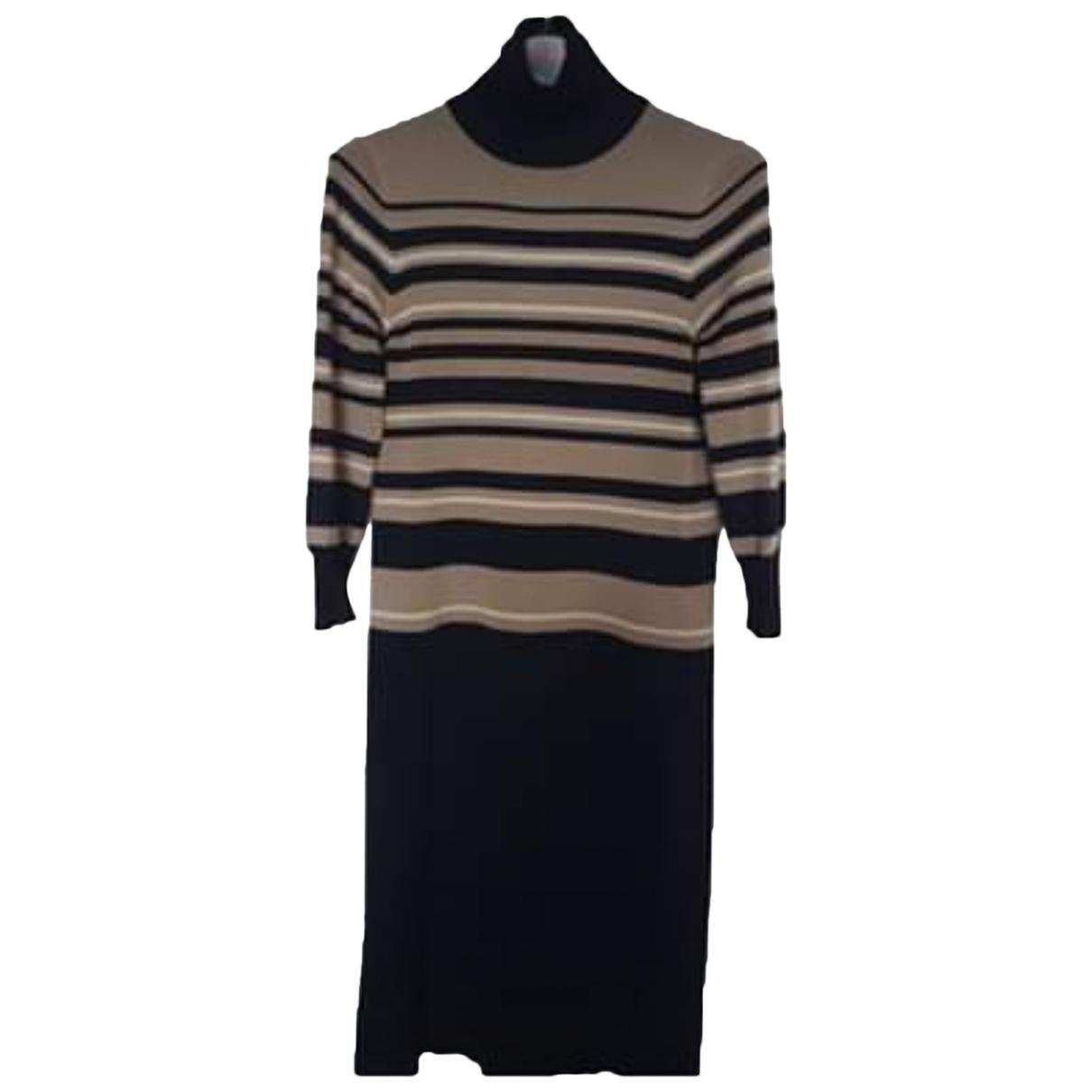 Jaeger - Robe   pour femme en laine - multicolore