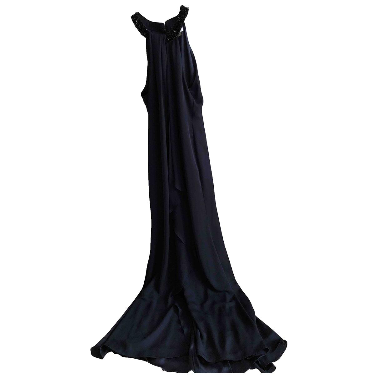 Calvin Klein Collection \N Kleid in  Marine Polyester
