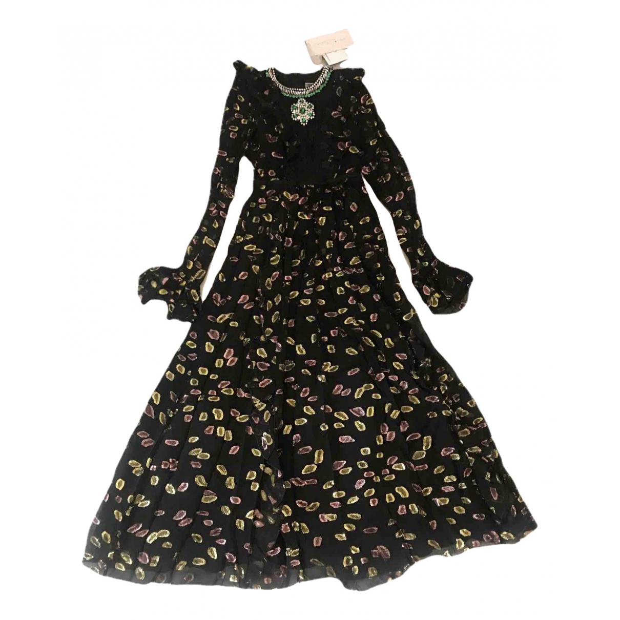 Giambattista Valli X H&m - Robe   pour femme en a paillettes - noir