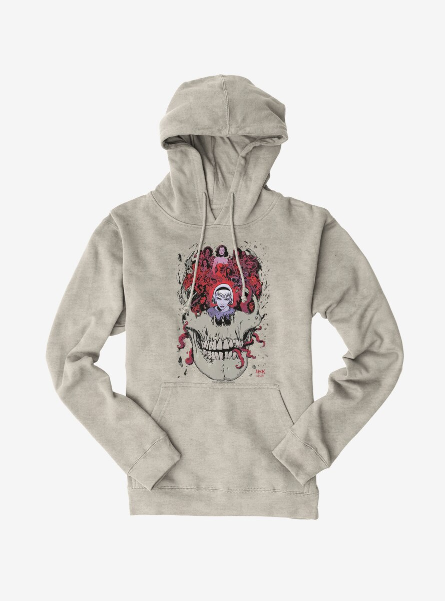 Archie Comics Chilling Adventures of Sabrina Skull Hoodie