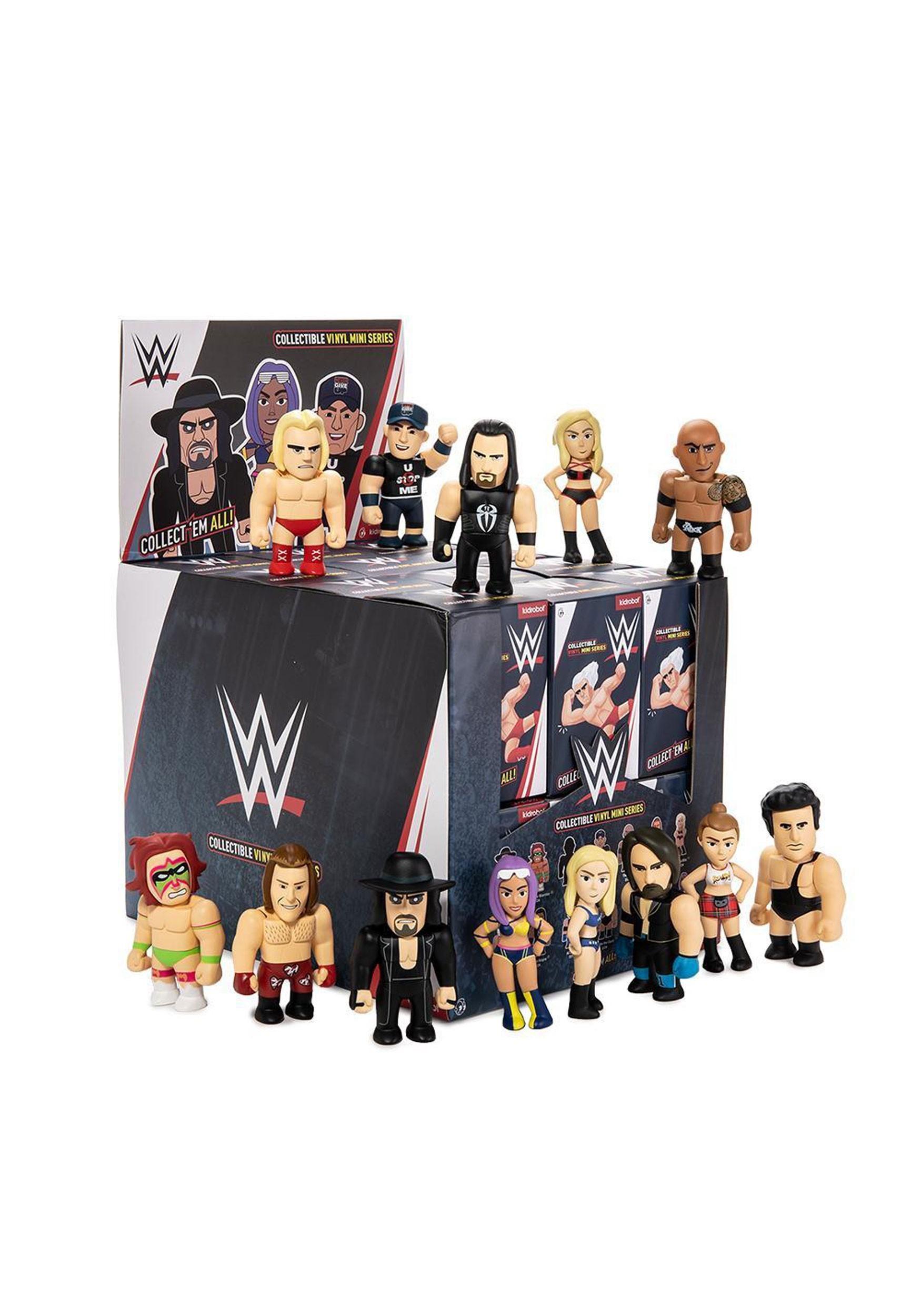 Kidrobot Collection WWE Vinyl Mini Series Blindbox