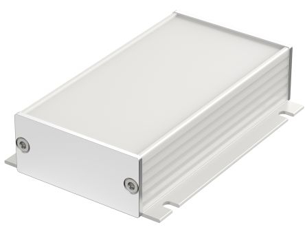 Bopla Filotec (Set), Natural Aluminium Enclosure, IP40, 100 x 55.3 x 24.4mm