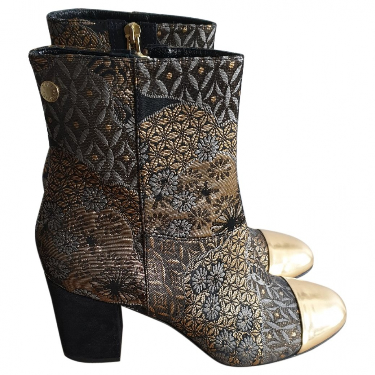 Zadig & Voltaire \N Multicolour Leather Ankle boots for Women 38 EU