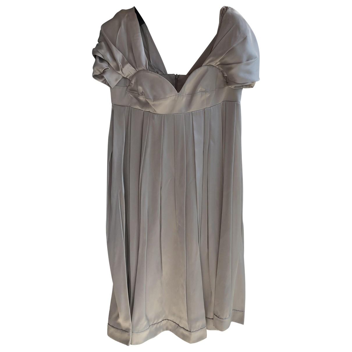 Miu Miu \N Turquoise Silk dress for Women 36 IT