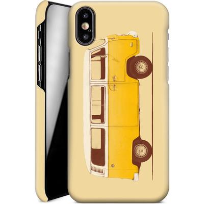 Apple iPhone XS Smartphone Huelle - Yellow Van von Florent Bodart