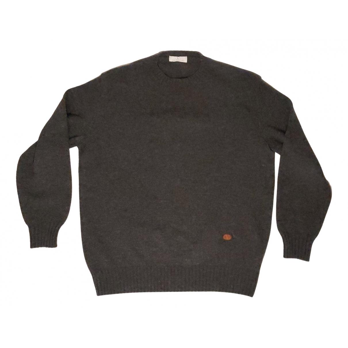 Valentino Garavani \N Pullover.Westen.Sweatshirts  in  Grau Wolle