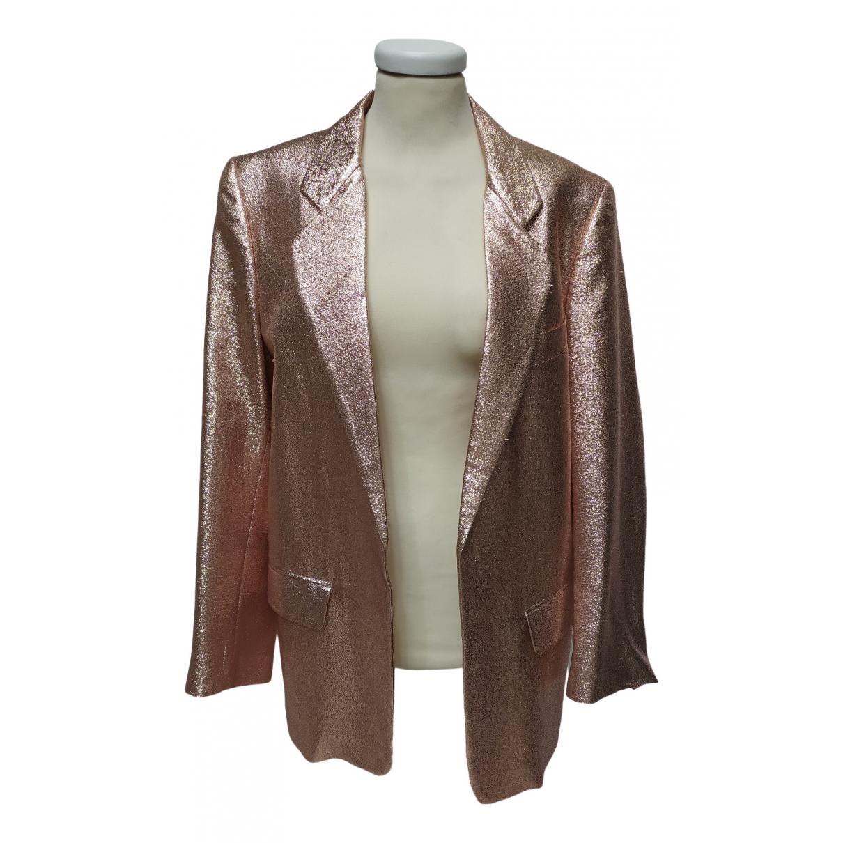 Ter Et Bantine \N Pink Silk jacket for Women 38 FR
