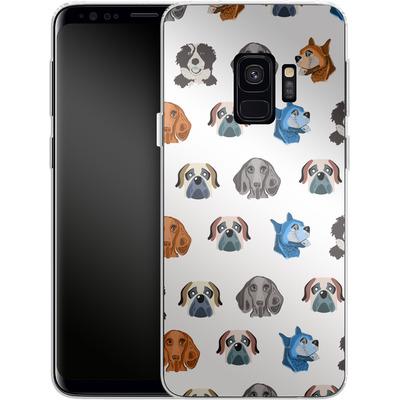 Samsung Galaxy S9 Silikon Handyhuelle - Dog Love von Mukta Lata Barua