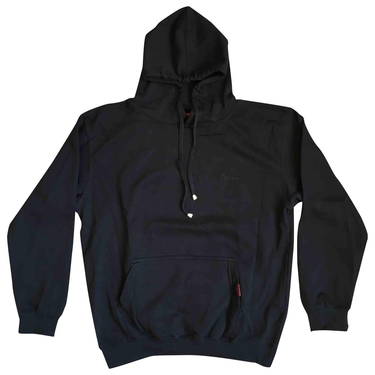 Pressure \N Pullover.Westen.Sweatshirts  in  Schwarz Baumwolle