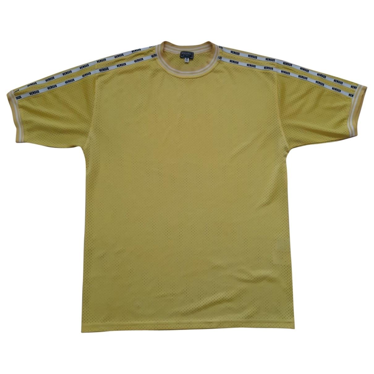 Versus \N Yellow T-shirts for Men XL International