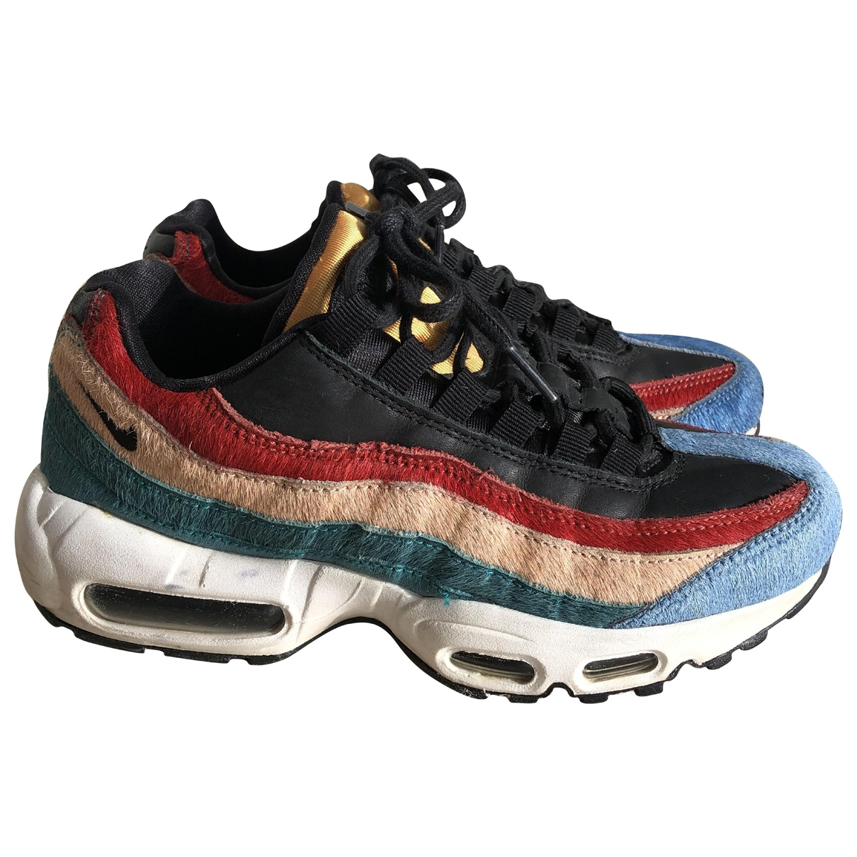 Nike Air Max 95 Multicolour Pony-style calfskin Trainers for Women 38 EU