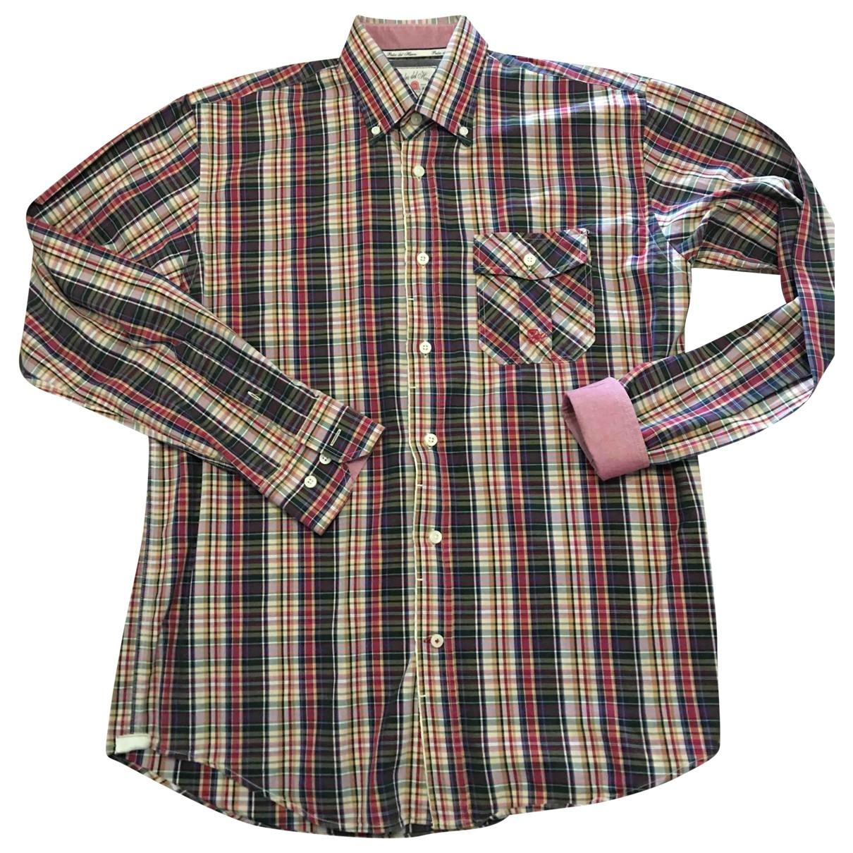 Pedro Del Hierro - Chemises   pour homme en coton - multicolore