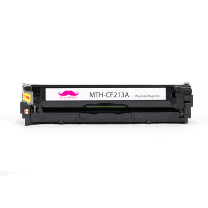 Compatible HP 131A CF213A Magenta Toner Cartridge - Moustache - 1/Pack