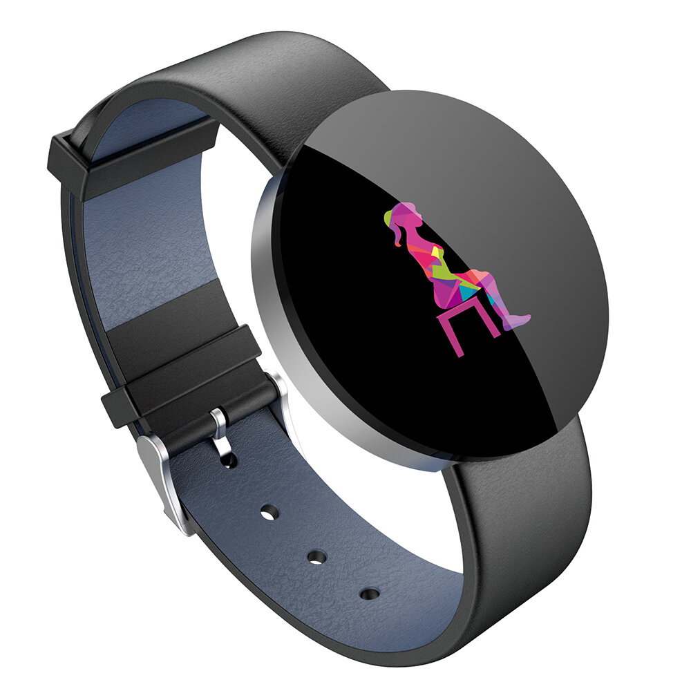 Bakeey Y11 Heart Rate Monitor Round 1.3' IPS Large Screen Activity Tracking Smart Watch