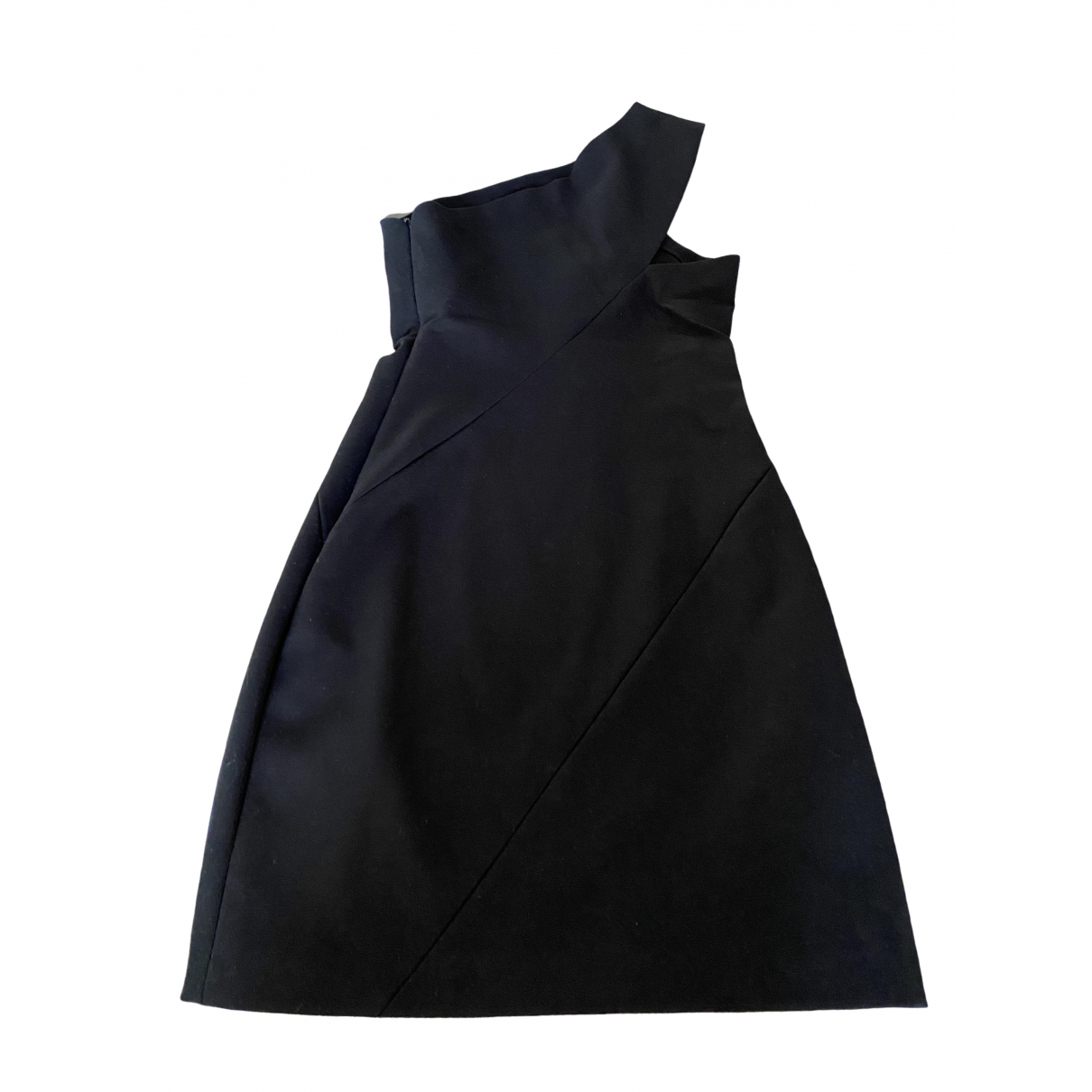 Sandro Spring Summer 2019 Black Cotton - elasthane dress for Women 1 0-5