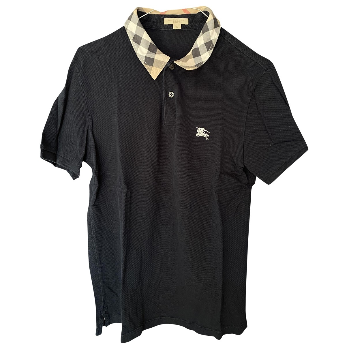 Burberry \N Navy Cotton Polo shirts for Men S International