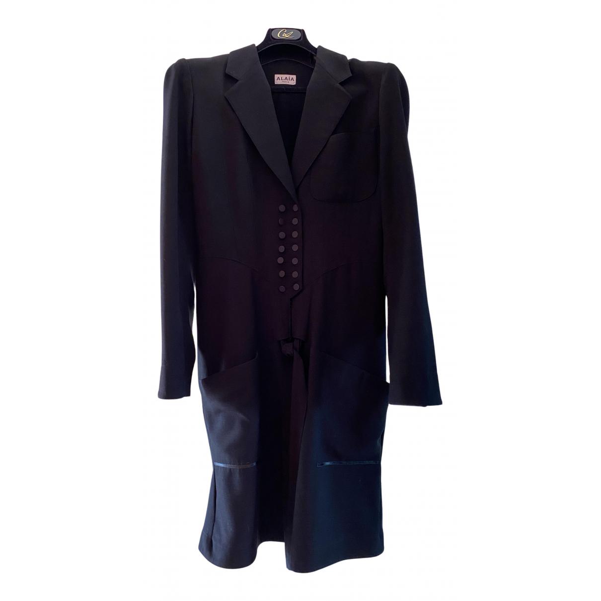 Alaïa N Black dress for Women 40 FR