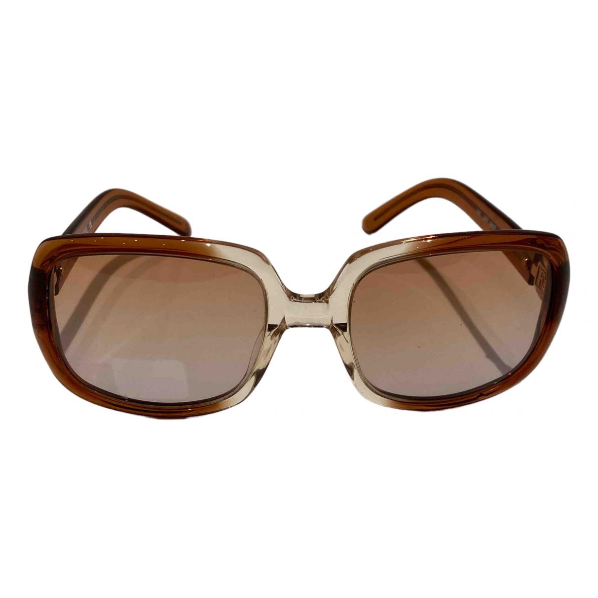 Gianfranco Ferre \N Sonnenbrillen in  Braun Kunststoff