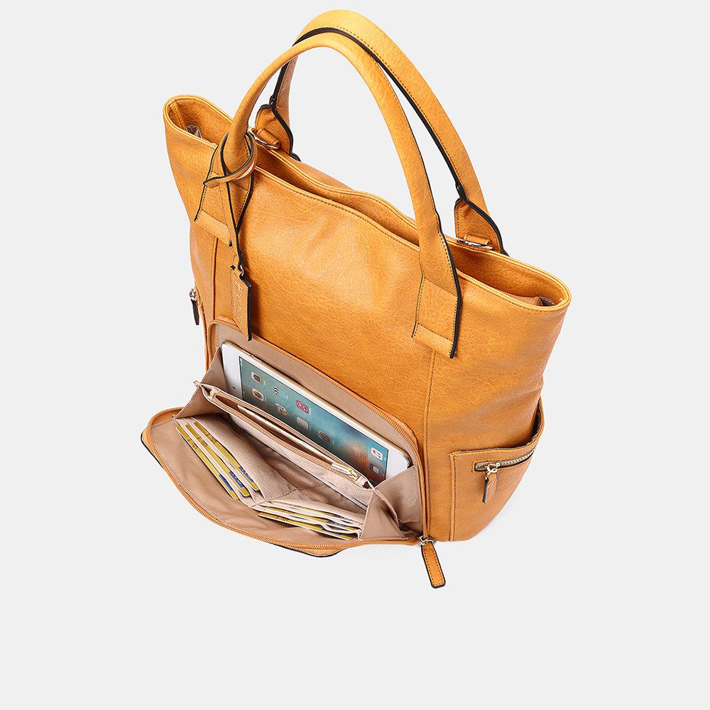 Women Multifunction Large Capacity Crossbody Bag Backpack