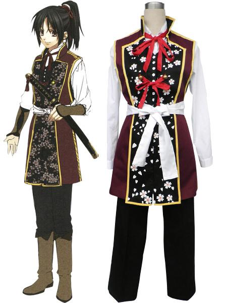 Milanoo Hakuoki Chizuru Yukimura Cosplay Costume Halloween