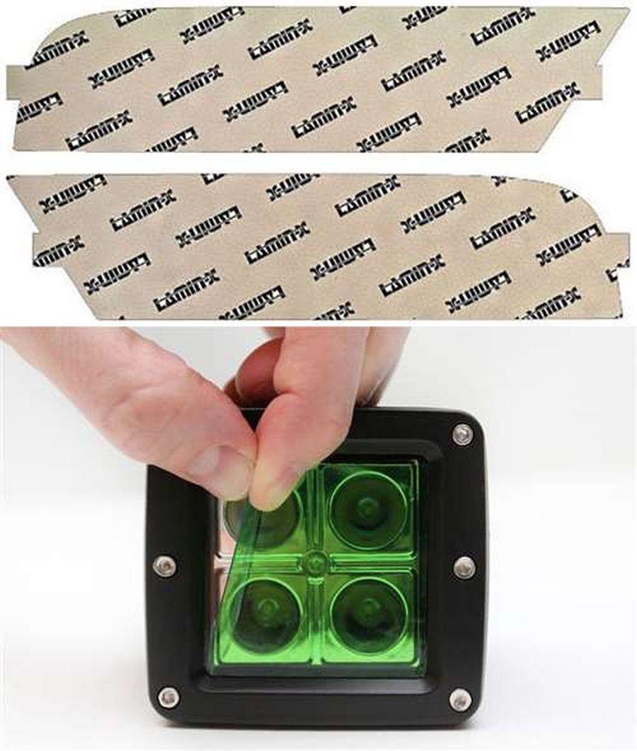 Honda CR-V 15-16 Green Fog Light Covers Lamin-X H151GR