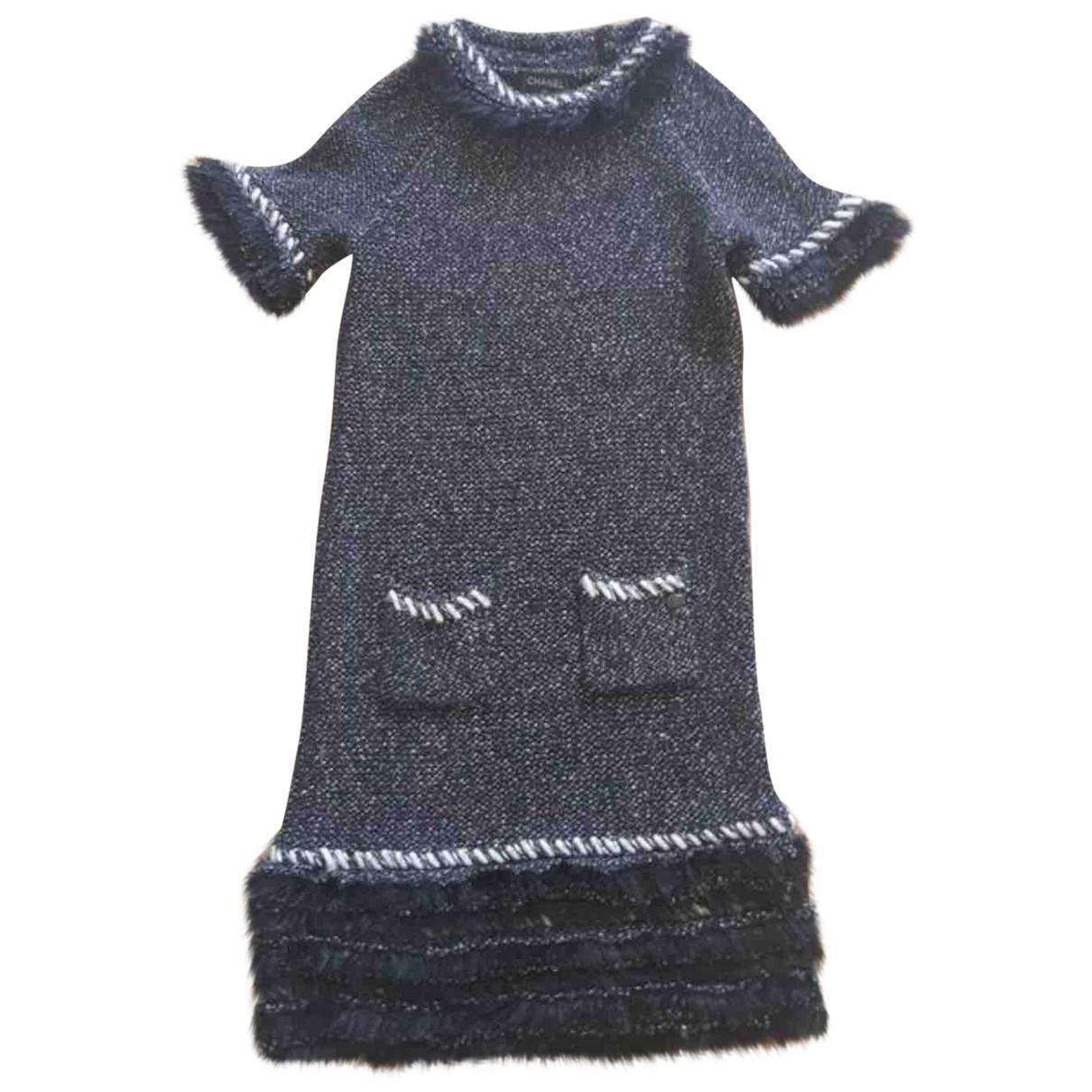 Chanel \N Kleid in  Schwarz Kaschmir