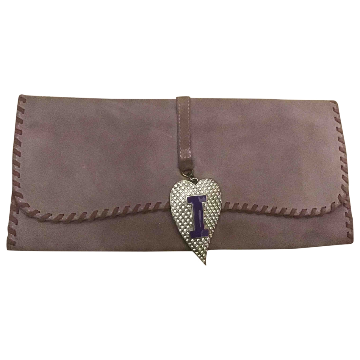 Iceberg \N Purple Suede Clutch bag for Women \N