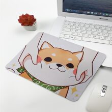 Cute Dog Pattern Mouse Pad