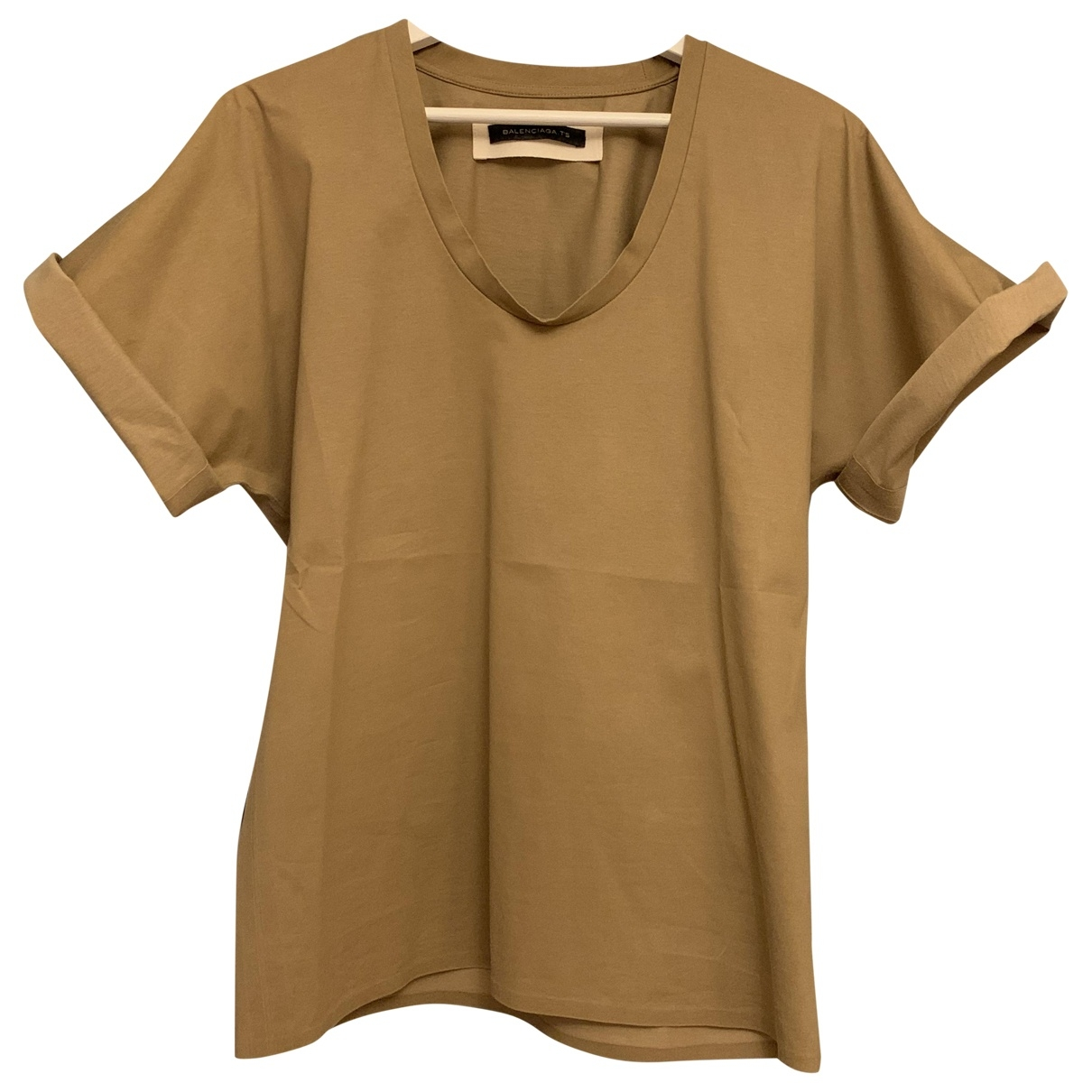 Balenciaga \N Camel Cotton  top for Women M International