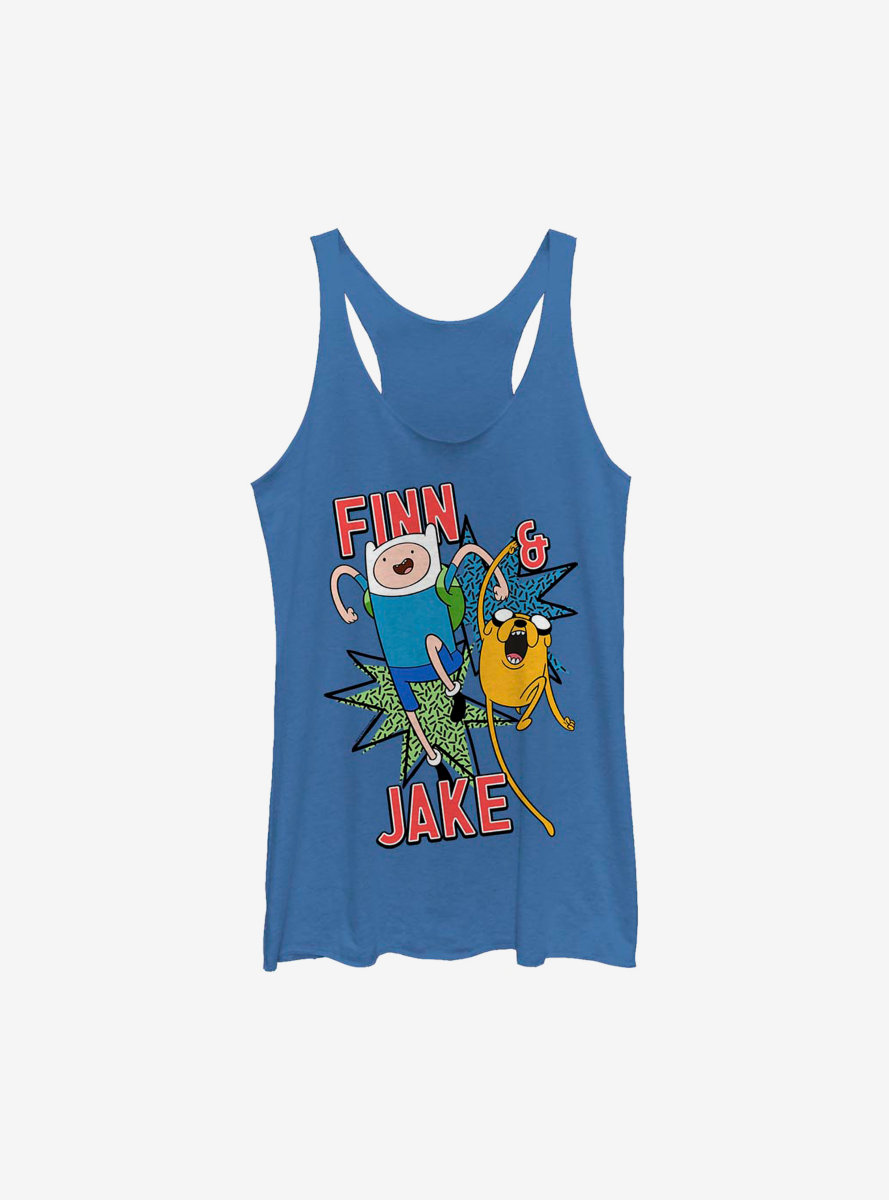 Adventure Time Jake And Finn Womens Tank Top