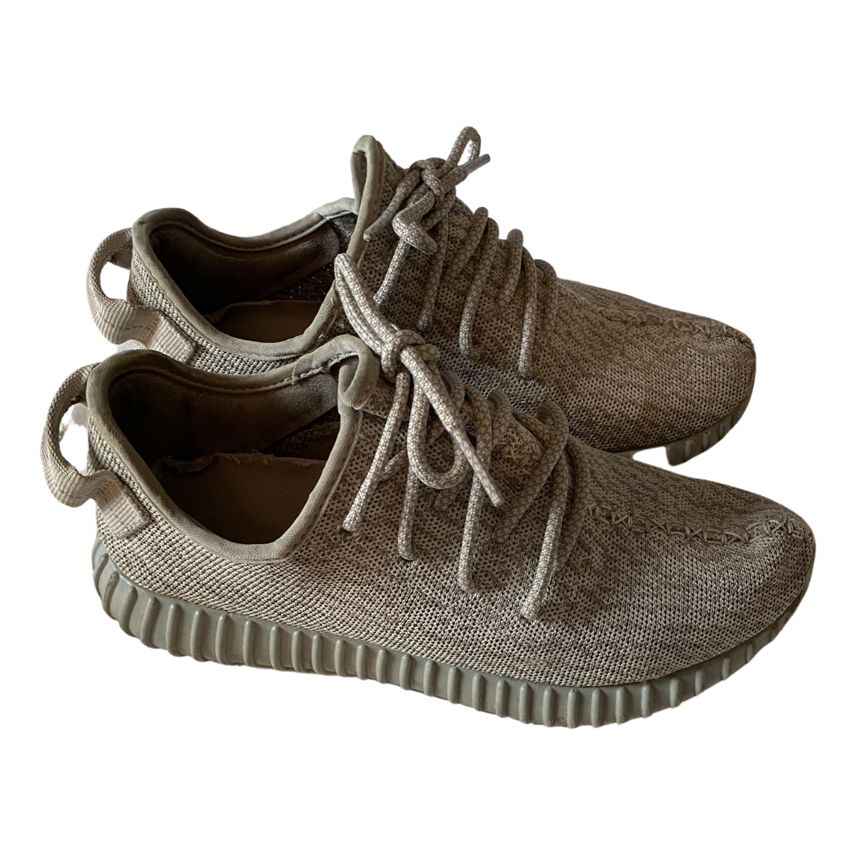 Yeezy X Adidas - Baskets Boost 350 V1 pour homme en caoutchouc - gris
