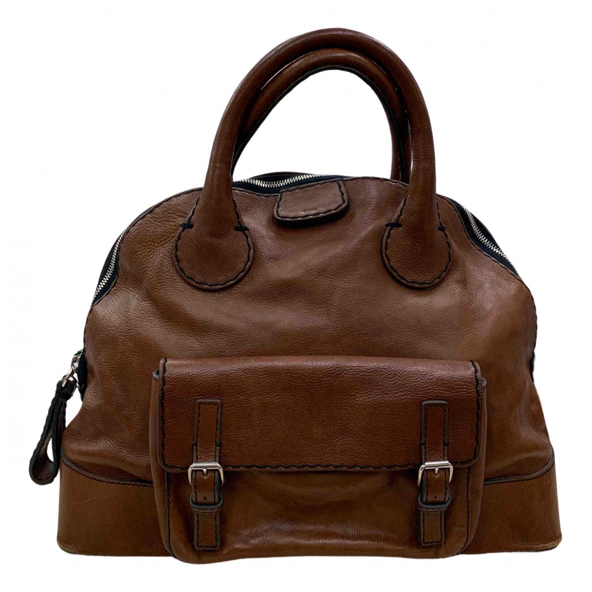 Chloé Edith Brown Leather handbag for Women \N
