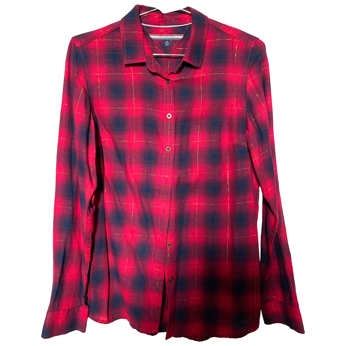 Tommy Hilfiger \N Red Cotton  top for Women XS International