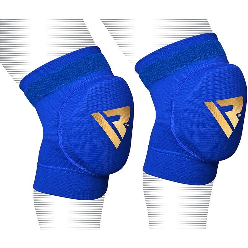 RDX Boxe Pro Sport Genouillere MMA Protection X Grande  Bleu Bonneterie