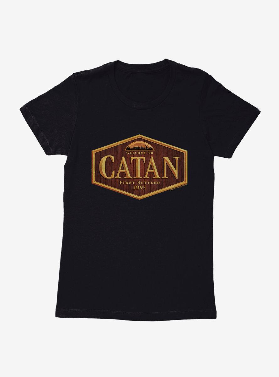Catan The Island Womens T-Shirt