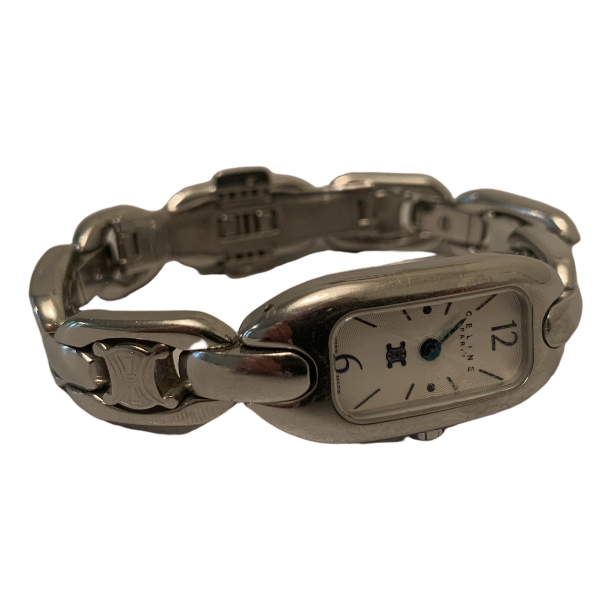 Celine \N Uhr in  Silber Stahl