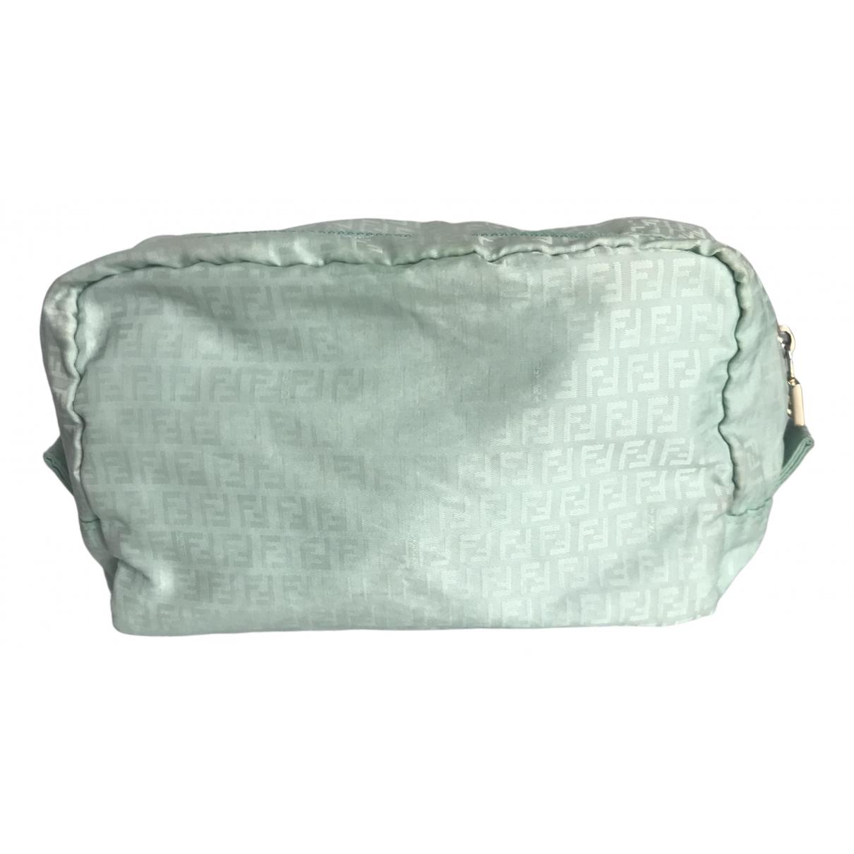 Fendi \N Turquoise Cloth Clutch bag for Women \N