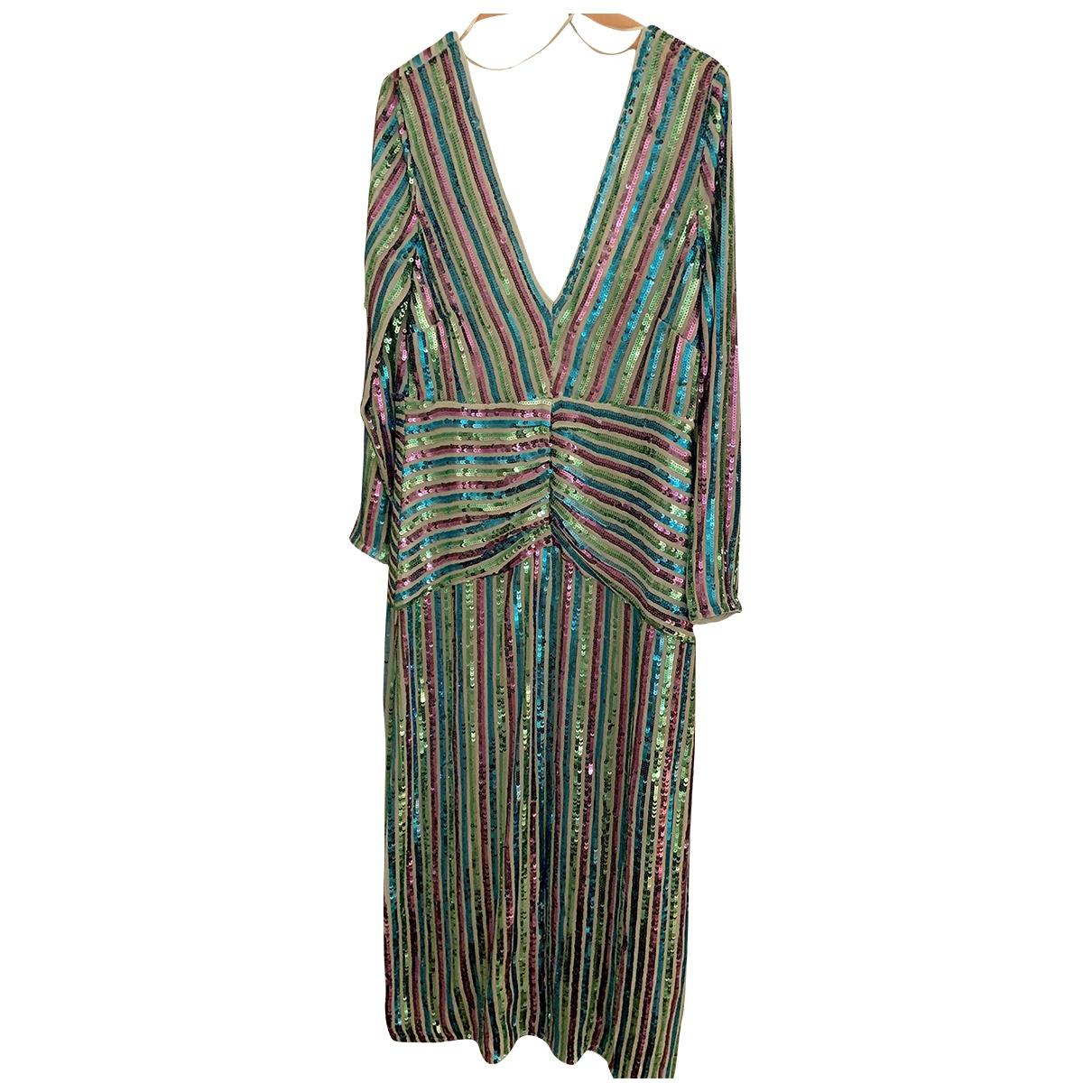 Rixo \N Kleid in  Bunt Mit Pailletten