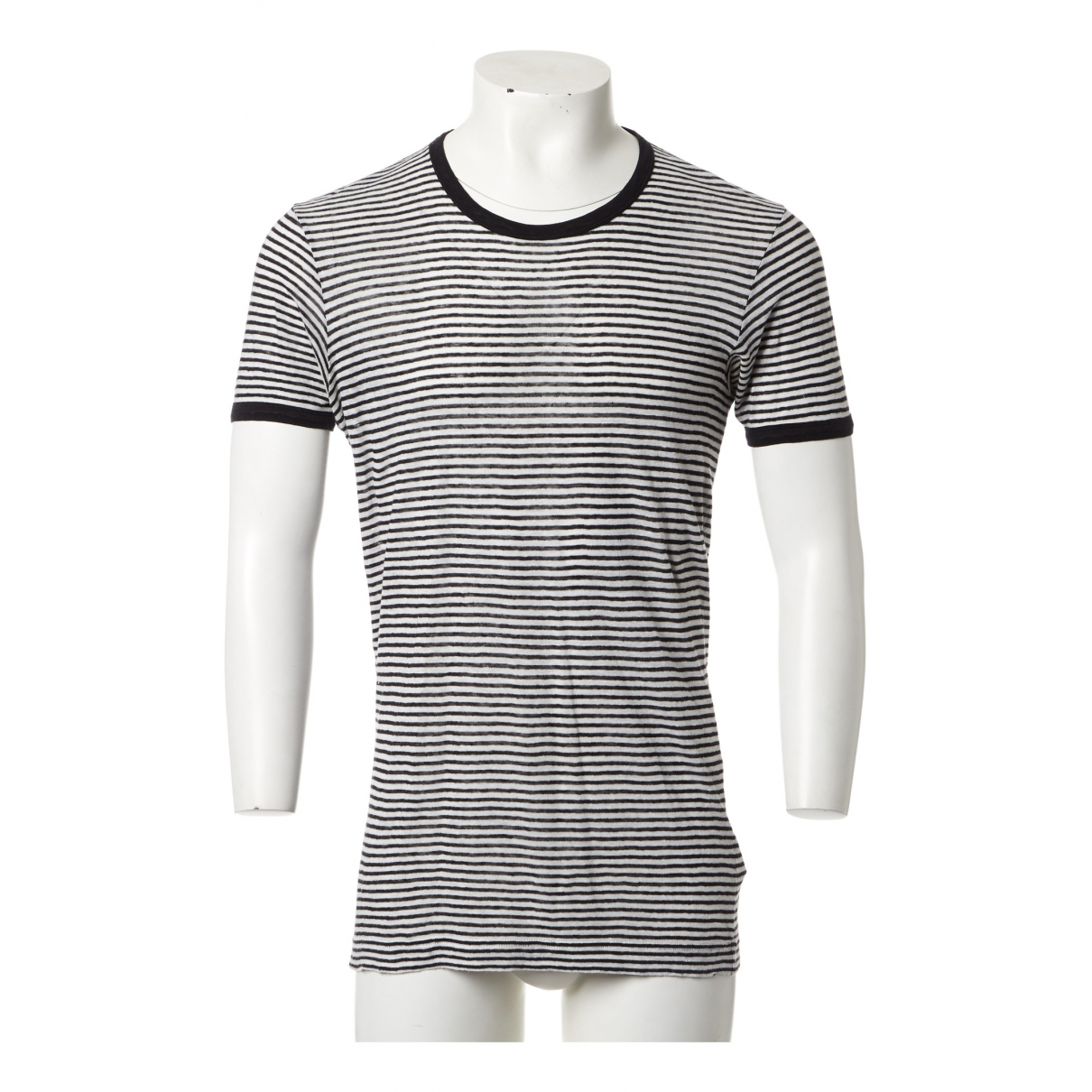 Dolce & Gabbana \N Multicolour Linen T-shirts for Men M International